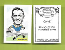 Mansfield Town Sam Chessell 14 (FC)